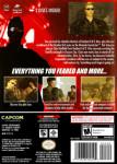 Gamecube - Resident Evil: Code Veronica X (back)