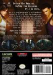 Gamecube - Resident Evil Zero (back)