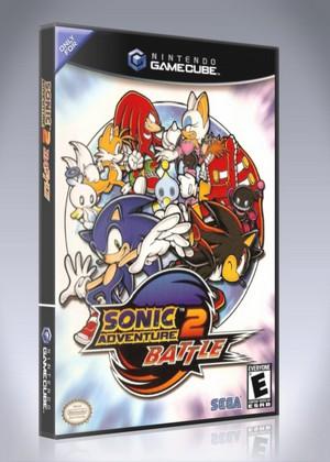 Gamecube Sonic Adventure 2 Battle Retro Game Cases