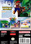 Gamecube - Super Mario Sunshine (back)