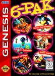 Sega Genesis - 6-Pak (front