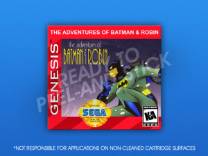 Sega Genesis - Adventures of Batman & Robin