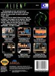 Sega Genesis - Alien 3 (back)