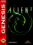 Sega Genesis - Alien 3 (front)