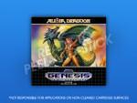Sega Genesis - Alisia Dragoon