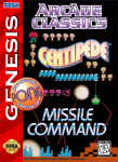 Sega Genesis - Arcade Classics (front)