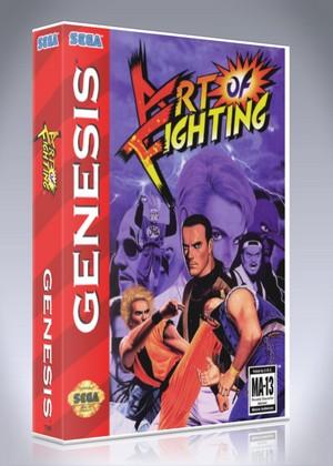 Sega Genesis Zero The Kamikaze Squirrel Custom Game Case