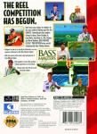 Sega Genesis - Bass Masters Classic Pro Edition (back)
