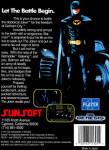 Genesis - Batman: The Video Game (back)