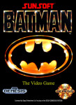Genesis - Batman: The Video Game (front)