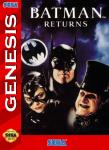 Sega Genesis - Batman Returns (front)
