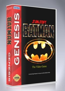 Sega Genesis - Batman: The Video Game