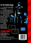 Sega Genesis - Batman: The Video Game (back)