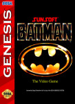 Sega Genesis - Batman: The Video Game (front)