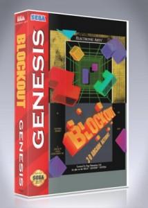 Sega Genesis - Blockout