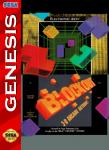 Sega Genesis - Blockout (front)