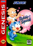 Sega Genesis - Bubble and Squeak (front)