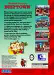 Sega Genesis - Busy-Town (back)