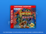 Sega Genesis - Castlevania: Bloodlines Label