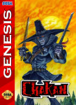 Sega Genesis - Chakan (front)