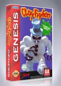 Sega Genesis - ClayFighter