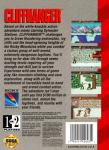 Sega Genesis - Cliffhanger (back)