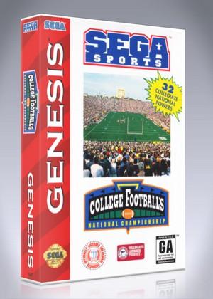 Sega Genesis - College Football's National Championship