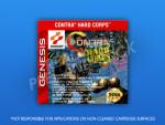 Sega Genesis - Contra Hard Corps Label
