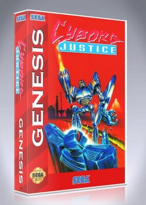 Sega Genesis - Cyborg Justice
