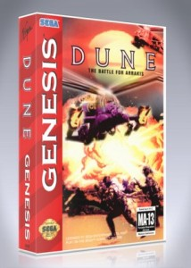 Sega Genesis - Dune: The Battle For Arrakis