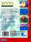 Sega Genesis - Ecco: The Tides of Time (back)