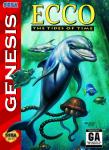 Sega Genesis - Ecco: The Tides of Time (front)