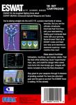 Sega Genesis - ESWAT (back)