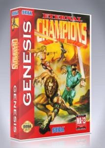 Sega Genesis - Eternal Champions