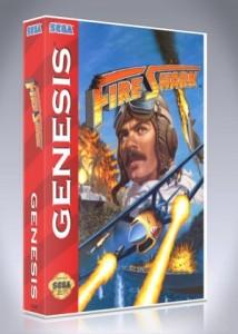 Sega Genesis - Fire Shark
