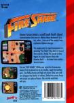 Sega Genesis - Fire Shark (back)