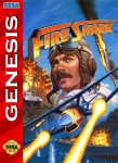 Sega Genesis - Fire Shark (front)