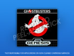 Sega Genesis - Ghostbusters Label