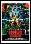 Genesis - Ghouls 'N Ghosts Poster