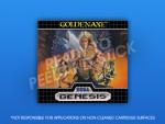 Sega Genesis - Golden Axe Label