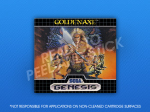 Sega Genesis - Golden Axe Label