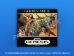 Sega Genesis - Golden Axe II Label