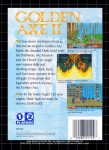 Sega Genesis - Golden Axe II (back)