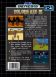 Sega Genesis - Golden Axe III (back)