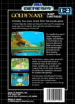 Sega Genesis - Golden Axe (back)