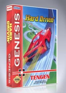 Sega Genesis - Hard Drivin'