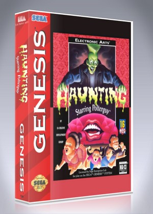 Sega Genesis - Haunting Starring Polterguy