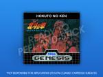 Sega Genesis - Hokuto No Ken Label