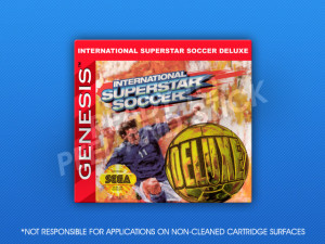 Sega Genesis - International Superstar Soccer Deluxe
