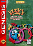 Sega Genesis - Izzy's Quest for the Olympic Rings (front)